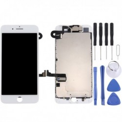 iPhone 7 Plus (White) Digitizer Assembly  (Front Camera + LCD + Frame + Touch Pad)