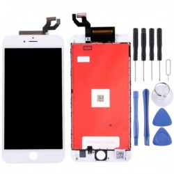 iPhone 6s Plus (White) Digitizer Assembly  (LCD + Frame + Touch Pad)