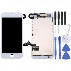 iPhone 8 (White) Digitizer Assembly (Front Camera + LCD + Frame + Touch Pad)