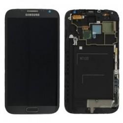 LCD Samsung Galaxy Note 2 + Digitizer Assemblée - Gris