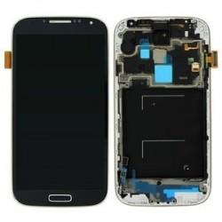 Samsung Galaxy S4 LCD et Digitizer Assy y compris Noir midframe