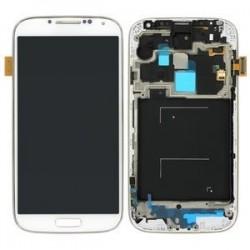 Samsung Galaxy S4 LCD et Digitizer Assy y compris blanc midframe